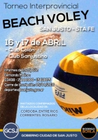 SE POSTERGO EL TORNEO INTERPROVINCIAL DE BEACH VOLEY.